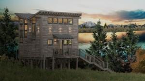 Alyeska Hermitage Treehouse Cabin